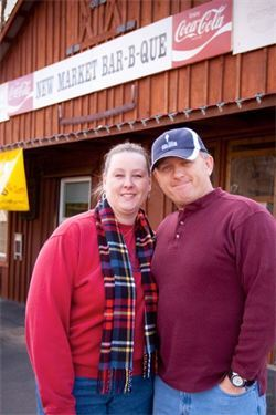 Kelly & Libby Webb, Owners New Market BBQ