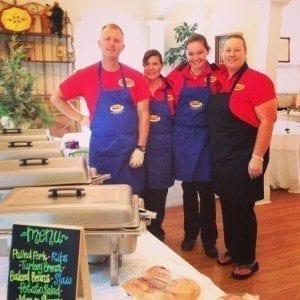 New Market BBQ Catering at Anna Bellas at Cedar Glen