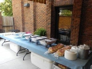 New Market BBQ Catering at Chamber of Commerce