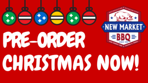 PreOrder NEW MARKET BBQ Christmas
