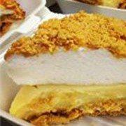 New Market BBQ Old Fashioned Peanut Butter Pie