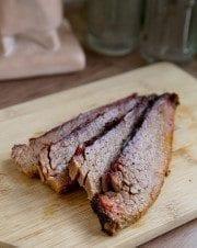 New Market BBQ Smoked Beef Brisket