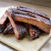 St. Louis Pork Spare Ribs by New Market BBQ