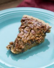 New Market BBQ Chocolate Chip Pecan Pie