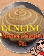 Banana Pudding Pie Whole