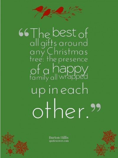 Christmas is a time for family and Joy!