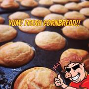 New Market BBQ Buttermilk Cornbread Muffins