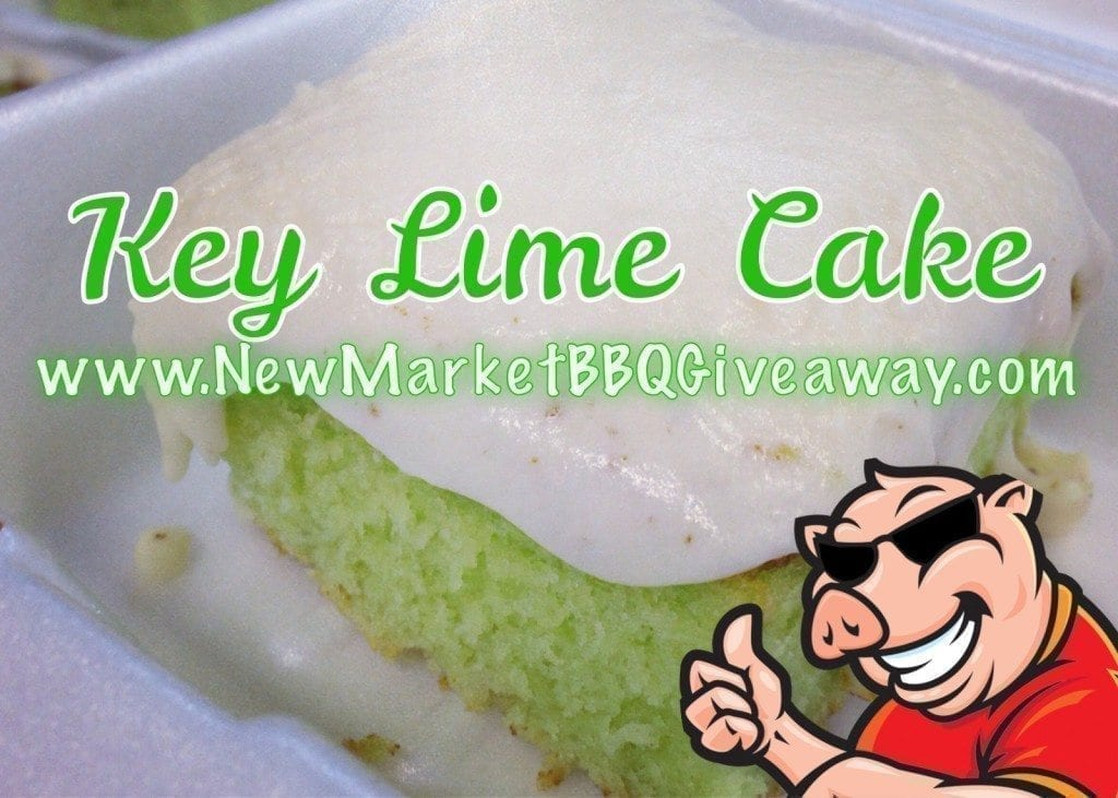 Key Lime Cake by New Market BBQ