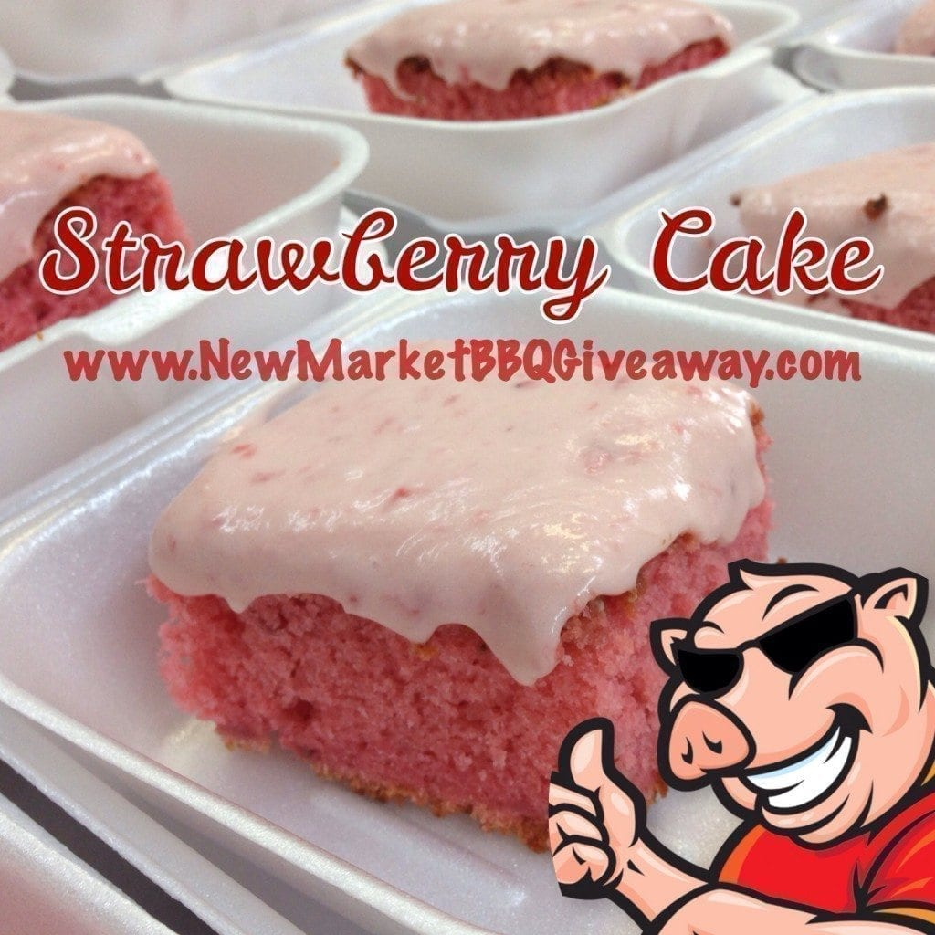 Strawberry Cake with Strawberry Cream Cheese Icing
