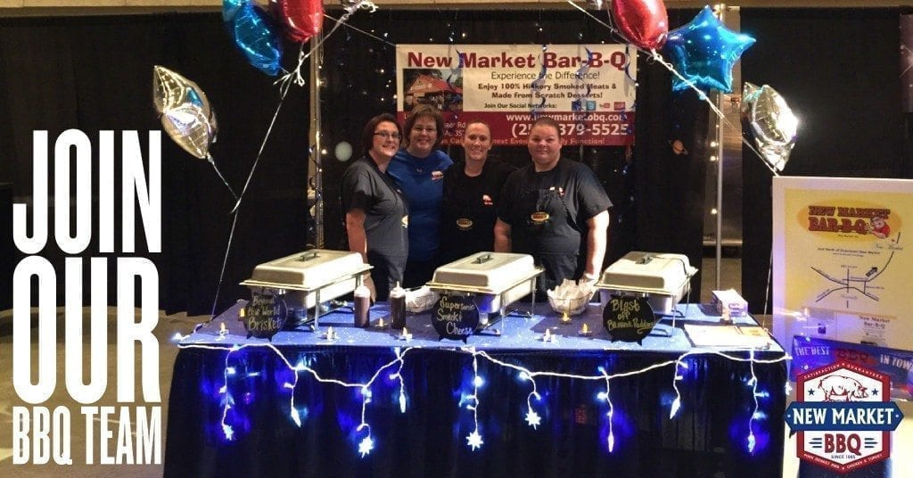 Join our New Market BBQ Team
