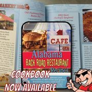 AL Backroads Restaurant Recipe & Travel Guide Book