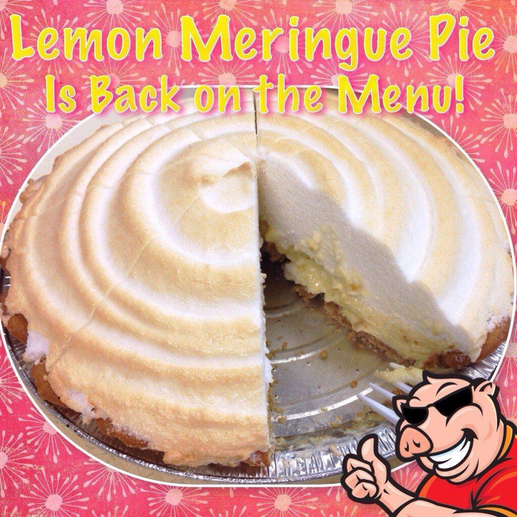 Lemon Meringue Pie is BACK!