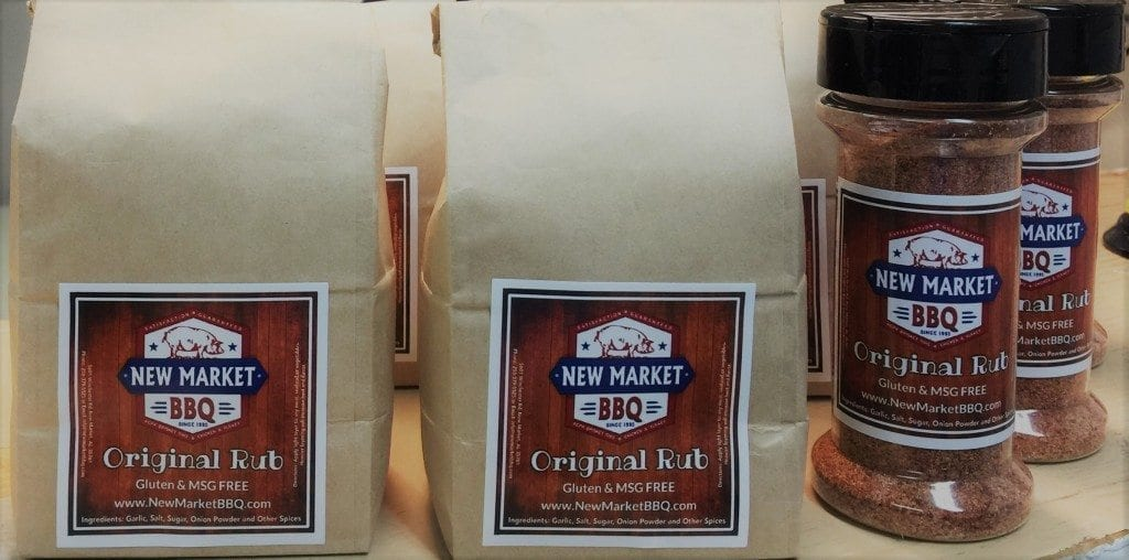 New Market BBQ Rub Bottles - Bags