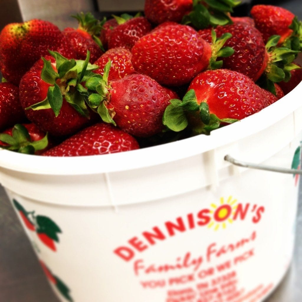 Dennison Strawberry Giveaway