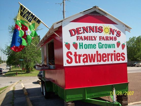 Dennison Strawberry Wagon