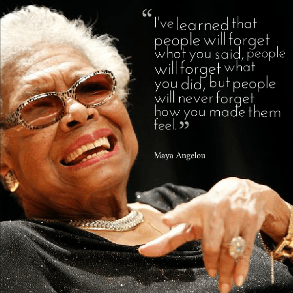 Maya Angelou Photo and Quote