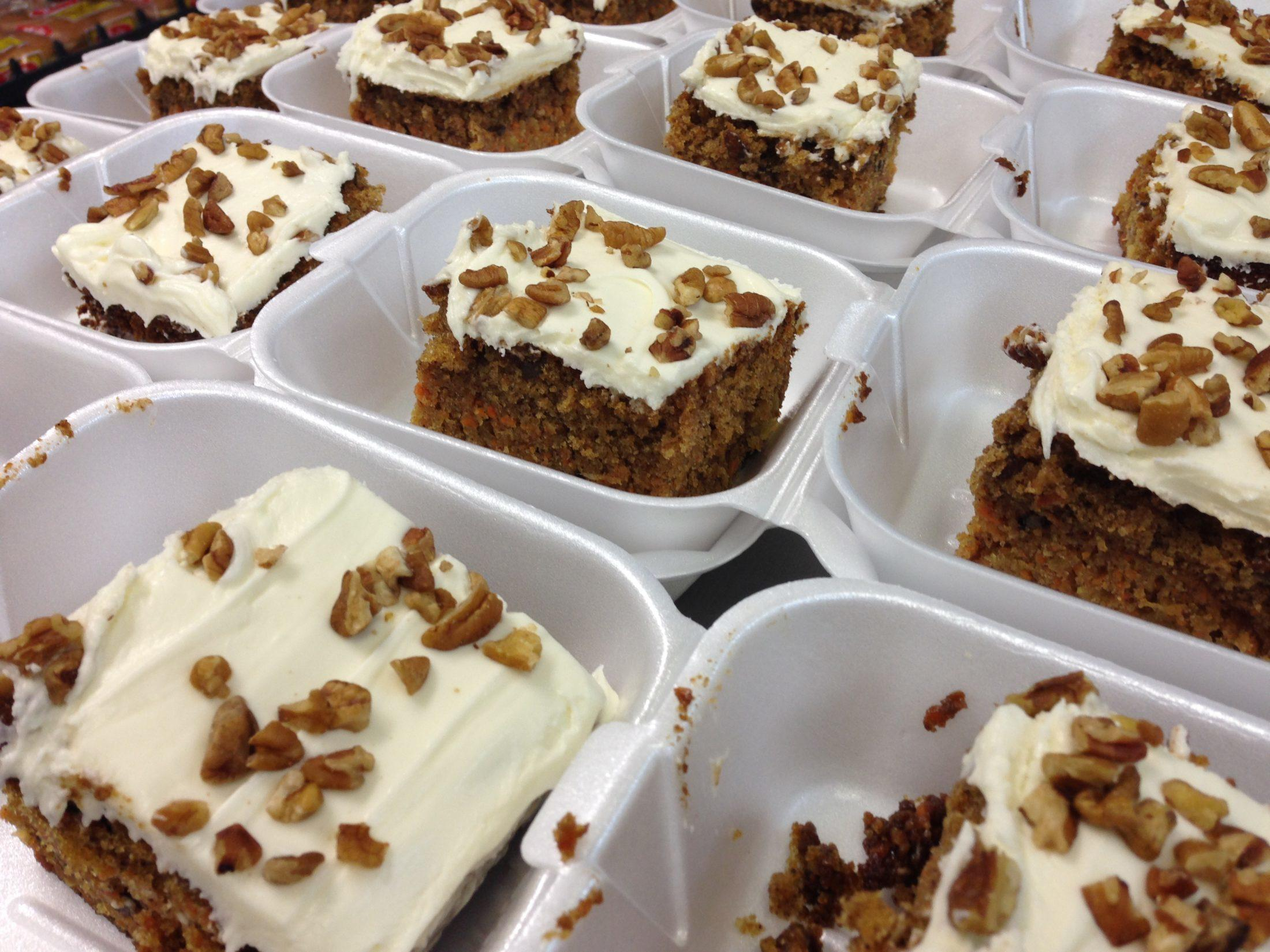 New Market BBQ Carrot Cake