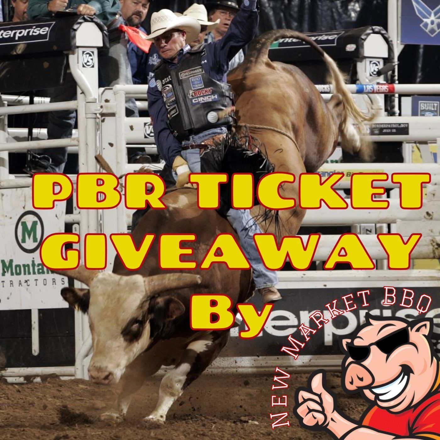 PBR Ticket Giveaway by New Market BBQ