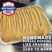 Banana Pudding by New Market BBQ